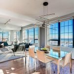 Million Dollar Monday: 18th Story Corner Condo in Locust Point with Panoramic Views and a Chef's Kitchen