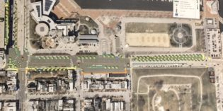 Reconstruction of the Key Hwy. and Light St. Intersection Begins