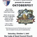 Catholic Community of South Baltimore Oktoberfest This Saturday