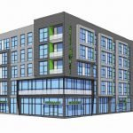 28 Walker Plans New Apartment and Retail Building on Cross Street in Federal Hill