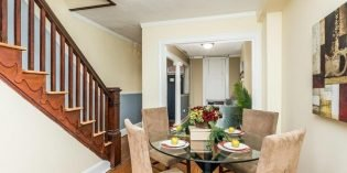 Mid-Week Listing: 1,272 Sq. Ft. Federal Hill Rowhome with a Large Main Level and Parking Pad