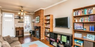 Mid-Week Listing: Three-Bedroom Rowhome in Federal Hill with Parking and Large Living Spaces