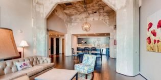 Million Dollar Monday: Industrial Condo with Concrete Archways, 16 Ft. Ceilings, and a Large Patio