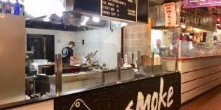 Smoke Closing Temporary Location at Cross Street Market, Steve's Lunch to Replace It