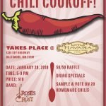 Federal Hill South Chili Cook Off on January 28th at Little Havana