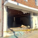 Car Crashes into Building on Fort Avenue
