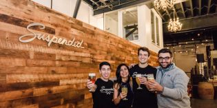 Touring Suspended Brewing Company's New Facility in Pigtown