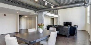 Million Dollar Monday: Industrial Three-Bedroom Loft Condo in Locust Point