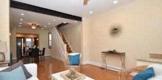Mid-Week Listing: Federal Hill Rowhome Built in 1850 with Four Bathrooms and a Garage
