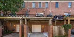 Mid-Week Listing: Renovated Three-Bedroom Townhome in Montgomery Square with Two-Car Parking