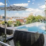 Rental Spotlight: Stunning Apartments, Infinity Pool Overlooking the Harbor, An Acre of Elevated Green Space and More