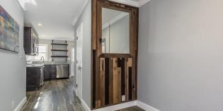 Tuesdays Under 250: Cross Street Rowhome with Gated Parking and Reclaimed Wood Accents