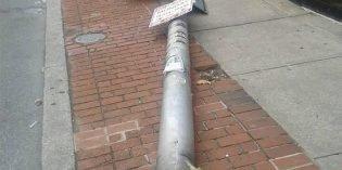 Windstorm Causes Damage Around South Baltimore