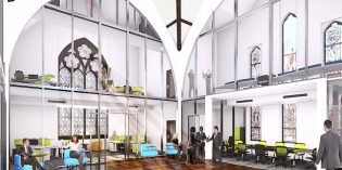 Former Grace United Church in Federal Hill to Become an Office Building
