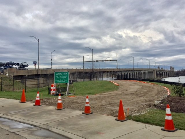 New Port Covington Bike Path To Run Underneath The Hanover