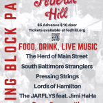 Federal Hill Spring Block Party This Sunday on Cross Street