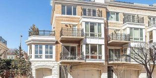 Million Dollar Monday: End-Unit HarborView Townhome with Five Decks and a Three-Car Garage