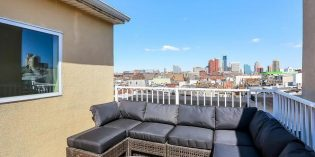 Mid-Week Listing: Recently-Built Townhome in Federal Hill with Garage and Skyline Views