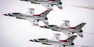 The U.S. Air Force Thunderbirds to Fly Over Baltimore in October During Maryland Fleet Week