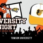 Orioles Announce University Nights Celebrating Local Colleges with Co-Branded Hats