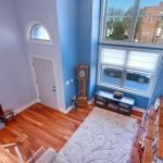 Mid-Week Listing: 2,250 sq. ft. Locust Point Townhome with a Two-Story Living Room and Four-Car Parking