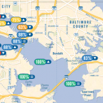 Harbor Heartbeat Report Shows Most of the Inner Harbor and Middle Branch is Swimmable More Than 60% of the Time