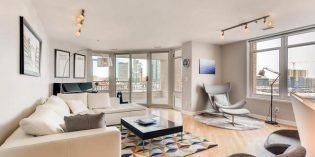 Million Dollar Monday: Remodeled High-Rise Condo with Two Balconies Overlooking the Harbor