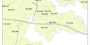 South Baltimore Peninsula Gained an Estimated 1,625 Residents Over a Six-Year Period