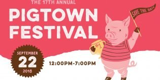 17th Annual Pigtown Festival on September 22nd