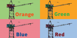 Baltimore Museum of Industry Asking Neighbors to Pick a New Color for Its 100-Foot Crane