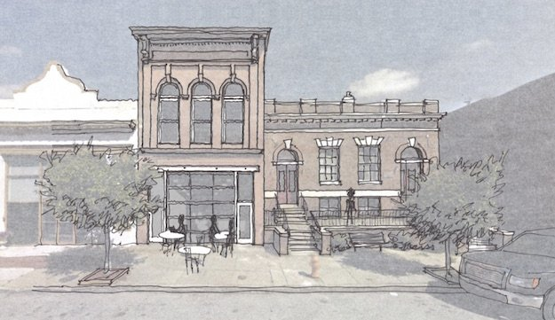 Bath House Square Development Begins Construction in Pigtown