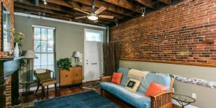 Mid-Week Listing: 1840s Rowhome Renovated into a Three-Bedroom Contemporary Loft