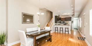 Mid-Week Listing: End-of-Group, Extra-Wide Townhome with a Garage on Fort Avenue