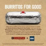 Maryland and DC Chipotle Restaurants Hosting Fundraiser for BARCS Today