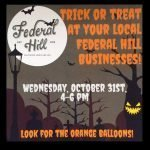Information on Tonight's Trick-or-Treating and Neighborhood Stoop Night in South Baltimore
