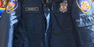 Police Jacket from The Wire Nets $3,350 at Thomas Johnson Silent Auction