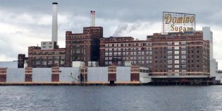 Domino Sugar Installing an Oyster Garden on Its Piers