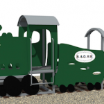New Playground Piece Inspired by a 19th Century B&O Train is Coming to Federal Hill Park