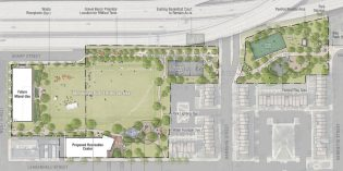 Solo Gibbs Master Plan Proposes Large Athletic Field, Demolished School, and a Development Site
