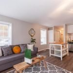 Mid-Week Listing: End-of-Group, Two-Unit Rowhome in Federal Hill