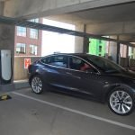McHenry Row Opens Tesla Supercharger Station