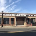 New Retro Sign Goes Up at Cross Street Market, Most of the Market to Open by March