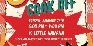 The Federal Hill South Chili Cook Off on Sunday, January 27th at Little Havana