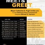 Southern District Meet & Greet with Police Commissioner Designate Michael Harrison on February 13th