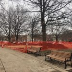 New Exercise Equipment Areas Under Construction at Riverside Park