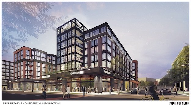 Apartment Building Renderings Courtesy Of Hord Coplan Macht And The Port Covington Development Team
