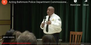 Video: Acting Baltimore Police Department Commissioner Michael S. Harrison Meets with Southern District