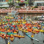 The Baltimore Floatilla 2.5-Mile Paddle Happening at the Inner Harbor on June 8th