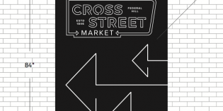 New Wayfinding, Neon Signs, and Mural to Direct People Between Cross Street Market and West Street Garage