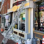 Facade Improvements Underway on Pigtown Main Street Using $100,000 State Grant